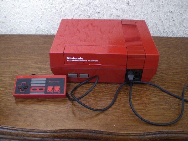 Nintendo nes red mario custom - Derniere console nintendo ...