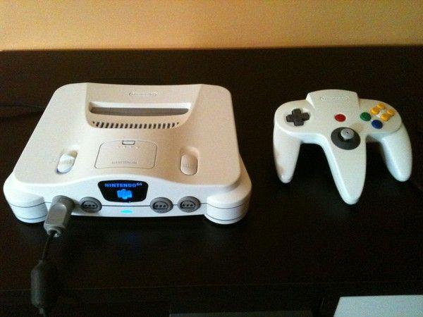 New nintendo 64 white led blue - Derniere console nintendo ...